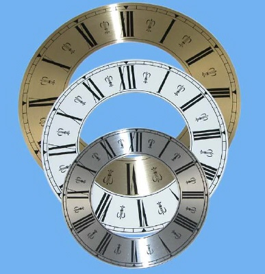 Pendulum Rods And Bobs Chapter Rings Clock Numerals